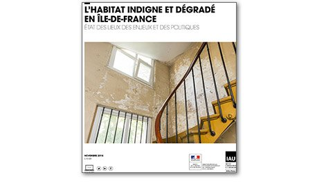 Progression de l'habitat dégradé et indigne en Île-de-France